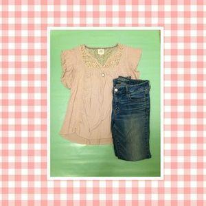 Pink Knox Rose T-shirt